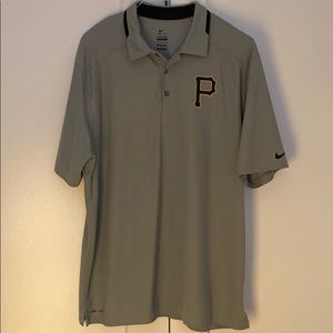 ⚾️ Pittsburgh Pirates Men's Nike Dri-Fit Polo - L